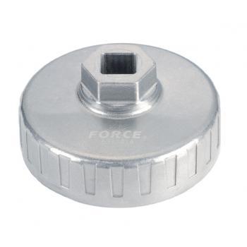 """Съемник масляного фильтра """"чашка"""" 76 мм, 12 граней (FORD, MAZDA) (FORCE 6317612)"""