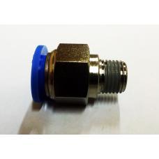 Фитинг быстроразьемный для шлангов 4 мм (Sumake PC 0401)