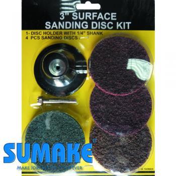"""Набор дисков для пневмошлифовальной машины 3"""" (SUMAKE SD-3BK)"""