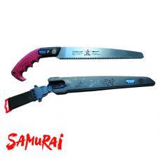 Пила с прямым полотном в чехле, с поясным креплением (L=300 мм/3 мм) (SAMURAI KS-300-MH)