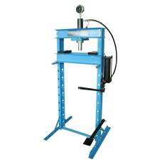 Пресс гидравлический 20 т высокий, с насосом и гидропоршнем с манометром (ход 185 мм) (UNITRAUM UNY20001)