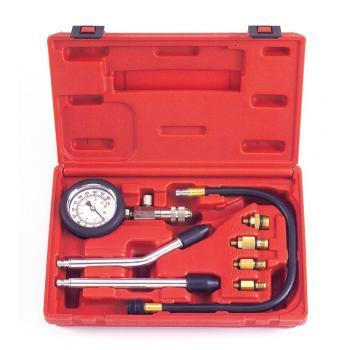 Компресcометр для бензиновых двигателей с набором адаптеров (FORCE 908G1)